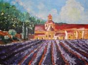 tableau paysages : l ' abbaye de sémance