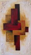 tableau abstrait abstrait : Espace