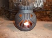 ceramique verre : photophore