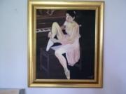 tableau personnages : danseuse au piano