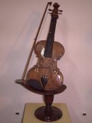 bois marqueterie autres violon musique art bois : le violon