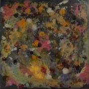 tableau abstrait abstrait acryliqueencrevitr multicolore toile sur chassis : Ambiance pastel