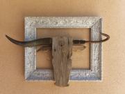 sculpture animaux toro corrida taureaumachie corne : cabeza de toro 4