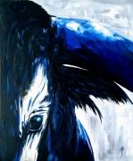 tableau animaux toro taureau corrida peinture : gros plan