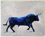 tableau animaux peinture toro tauromachie corrida : Propriétaire des lieux