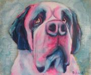 tableau animaux chien bouvier : PERDU NONOS