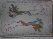 art textile mode autres invisible merveille nature luneville : bacterie