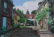 tableau villes village de france classe picardie : Village de Gerberoy