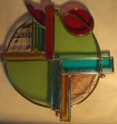 ceramique verre : Vitrail art