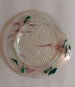 ceramique verre abstrait plat ,a tarte plat ,a gateaux cadeaux noel : Grande assiette