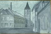 tableau villes jules breton courrieres brasserie : brasserie Breton