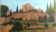 tableau paysages montbrun les bains cure drome vacances : Chateau de Montbrun les bains