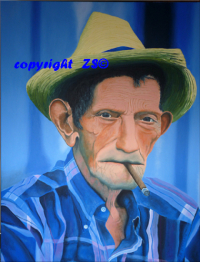 Le vieil homme au cigare