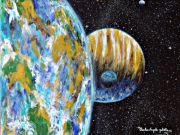 tableau autres cosmos immensite voyage : L'Univers