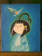 tableau personnages : japonaise