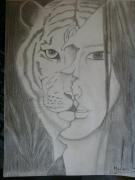 dessin : Auto-portrait