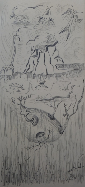 DESSIN Crayon  - Profondeur