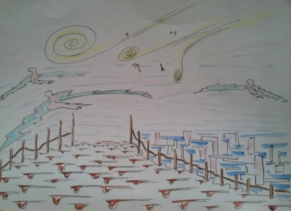 DESSIN  - Rêve 2