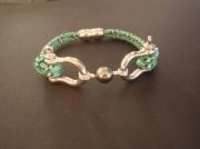 bijoux bracelet perle de tahiti cordelette marine manilles : MOORING