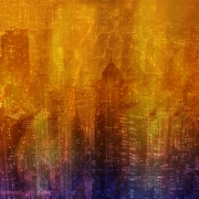 mixte villes concept abstraction digital ville : Cityland