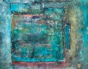 tableau abstrait abstraction zen calme : Azal