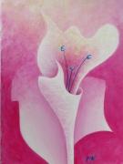 tableau fleurs fleurs peintures de fleurs : la Vencestas