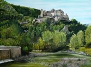 tableau paysages : A LA CROISEE DES RIVIERES