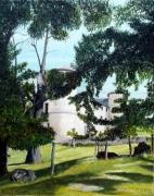 tableau paysages : CHATEAU DE CRAUX
