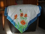 art textile mode foulard fleur modele unique : Foulard soyeux  2