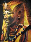 tableau personnages egypte toutankhamon acrylique : Toutankhamon