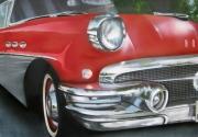 tableau autres aerographe voiture aerographie peinture : Buick