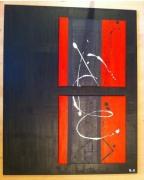 "tableau abstrait modern tendance design : La ""Haute"""