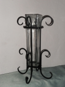artisanat dart vase fer forge deco : vase