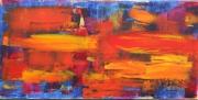 tableau abstrait 1 1 1 1 : Fin fond du désert