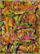 tableau abstrait 1 1 1 1 : Bouquet de fleurs