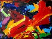 tableau abstrait 1 1 1 1 : Trou dans le ciel