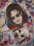 tableau michael jackson jeune phoque animaux sauvages personnage celebre : make that change