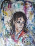 tableau king of pop portrait michael jackson : Michael Jackson, gone too soon!