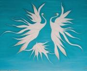 tableau animaux : Danse des cygnes