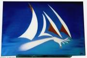 tableau marine : Pianoter sur les océans