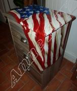 autres autres usa amerique etats unis drapeau : Chiffonier américa