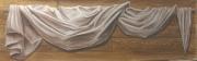 tableau autres drape voilage tete de lit bois : Drapé