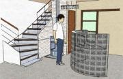 deco design architecture decoration interieur etude conseil : Hall d'entrée