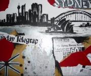 tableau villes sydney ville building city : Sydney city memories