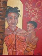 tableau : Maman africaine