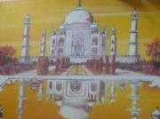 tableau : Chaleur du Tadj Mahal