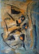 tableau abstrait : Intox