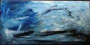 tableau abstrait : Evasion