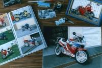 Les motos de Florent, le bureau