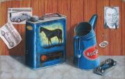 tableau nature morte bugatti ettore pastel bugatti voiture : Ettore Bugatti